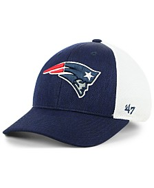 '47 Brand New England Patriots Hazy Flex CONTENDER Stretch Fitted Cap