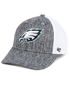 '47 Brand Philadelphia Eagles Hazy Flex CONTENDER Stretch Fitted Cap