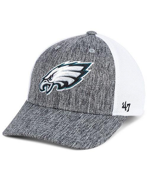 1d72c18e8a6 ...  47 Brand Philadelphia Eagles Hazy Flex CONTENDER Stretch Fitted Cap     ...