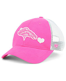 '47 Brand Girls' Denver Broncos Sugar Sweet Mesh Adjustable Cap