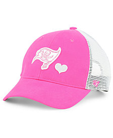 '47 Brand Girls' Tampa Bay Buccaneers Sugar Sweet Mesh Adjustable Cap