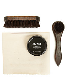 Alfani Shoe Accessories 4 Piece Pro Shoe Care Kit, Created for Macy's