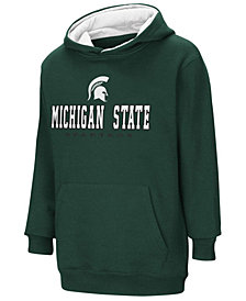 Colosseum Michigan State Spartans Pullover Hooded Sweatshirt, Big Boys (8-20)