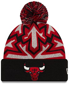 Chicago Bulls Glowflake Cuff Knit Hat