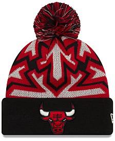 New Era Chicago Bulls Glowflake Cuff Knit Hat