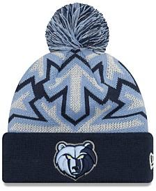 New Era Memphis Grizzlies Glowflake Cuff Knit Hat