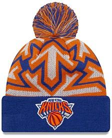 New Era New York Knicks Glowflake Cuff Knit Hat