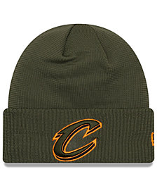 New Era Cleveland Cavaliers Tip Pop Cuffed Knit Hat