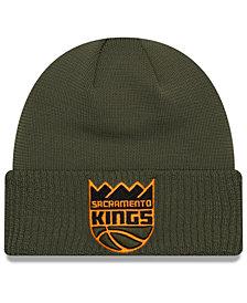 New Era Sacramento Kings Tip Pop Cuffed Knit Hat