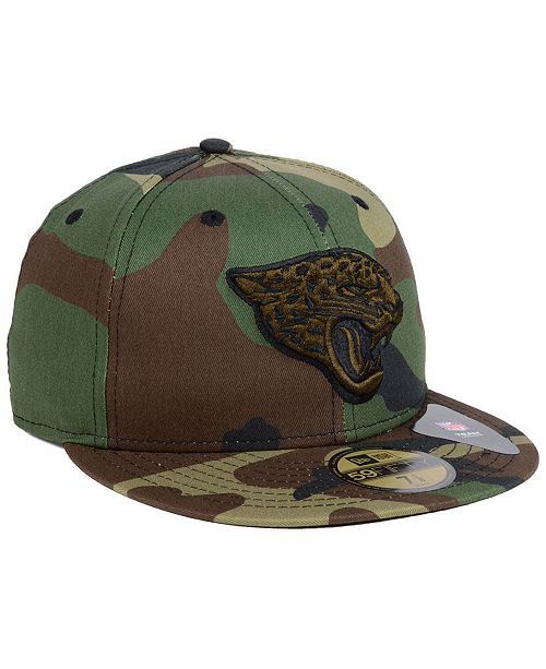 best sneakers 1d9d4 831ad ... New Era Jacksonville Jaguars Woodland Prism Pack 59FIFTY-FITTED Cap ...