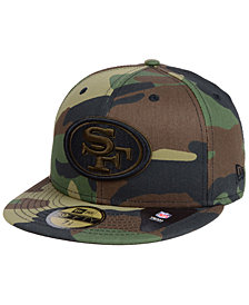 New Era San Francisco 49ers Woodland Prism Pack 59FIFTY-FITTED Cap