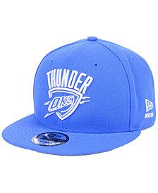 New Era Oklahoma City Thunder Logo Trace 9FIFTY Snapback Cap
