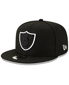 New Era Boys' Oakland Raiders Logo Elements Collection 9FIFTY Snapback Cap
