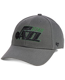 '47 Brand Utah Jazz Charcoal Pop MVP Cap