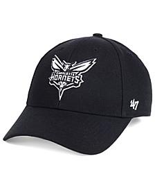 Charlotte Hornets Black White MVP Cap