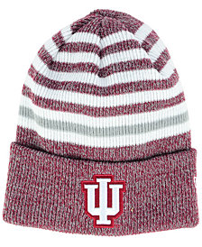 New Era Indiana Hoosiers Striped Chill Knit Hat
