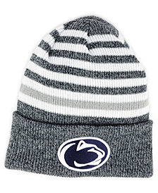 New Era Penn State Nittany Lions Striped Chill Knit Hat