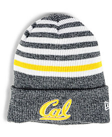 New Era California Golden Bears Striped Chill Knit Hat