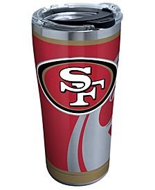 San Francisco 49ers 20oz Rush Stainless Steel Tumbler