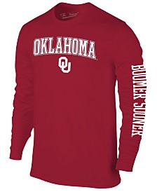 Colosseum Men's Oklahoma Sooners Midsize Slogan Long Sleeve T-Shirt