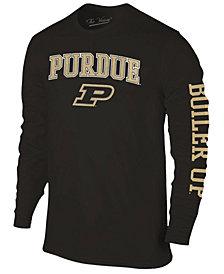 Colosseum Men's Purdue Boilermakers Midsize Slogan Long Sleeve T-Shirt