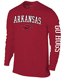 Colosseum Men's Arkansas Razorbacks Midsize Slogan Long Sleeve T-Shirt