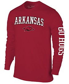Colosseum Men's Arkansas Razorbacks Midsize Slogan Long Sleeve T-Shirt
