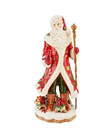 Fitz and Floyd Santa Figurine