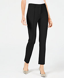 Alfani Petite Front-Seam Skinny Pants, Created for Macy's