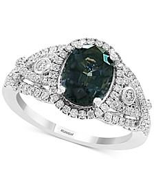 EFFY® Grey Spinel (2-1/3 ct. t.w.) & Diamond (1/2 ct. t.w.) Ring in 14k White Gold