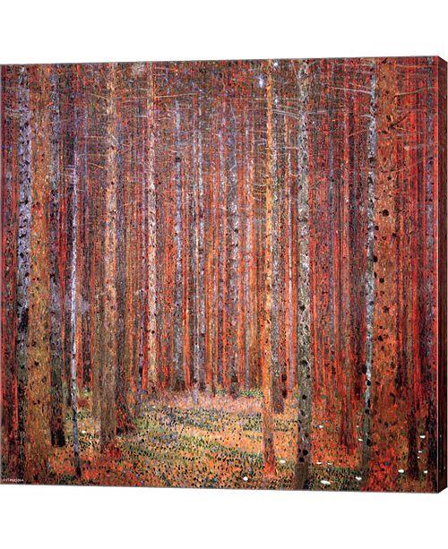 Metaverse Tannenwald I by Gustav Klimt Canvas Art