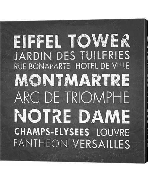 Metaverse Paris by Veruca Salt Canvas Art