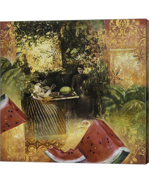 Metaverse Juicy by Darlene Mcelroy Canvas Art