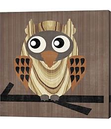 Owl 1 by Erin Clark Canvas Art