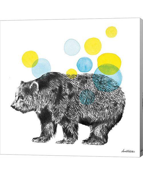 Metaverse Sketchbook Lodge Bear by Lamai Mccartan Canvas Art