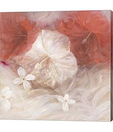 Hibiscus IV by Li Bo Canvas Art