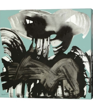 1996, Martedi 4 Gennaio by Nino Mustica Canvas Art