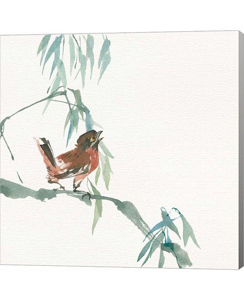 Metaverse Russet Sparrow by Chris Paschke Canvas Art
