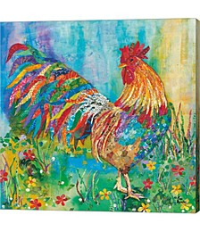 Rooster by Lisa Morales Canvas Art