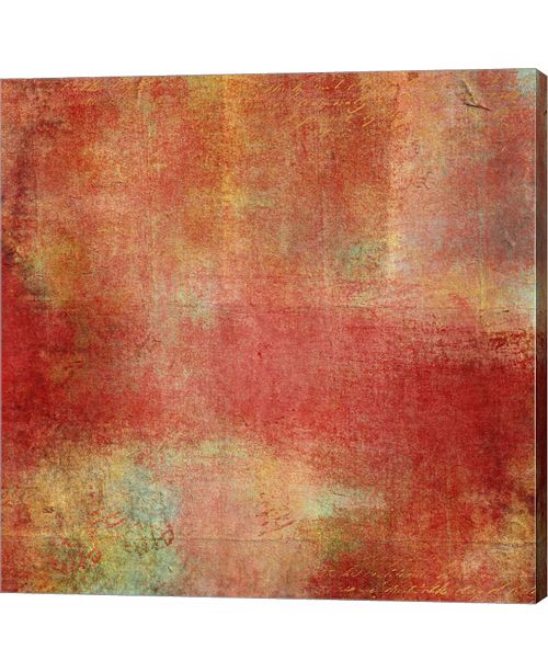 Metaverse Smooth Red Crush by Marcee Duggar Canvas Art