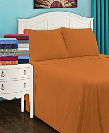 Superior Flannel Cotton Sheet Set - California King - White