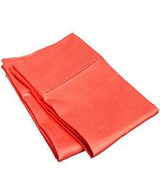 Superior 1500 Thread Count Egyptian Cotton Solid Pillowcase Set - Standard - White