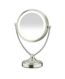 1x/10x Magnified Fluorescent Vanity Mirror
