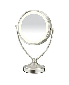 Conair 1x/10x Magnified Fluorescent Vanity Mirror