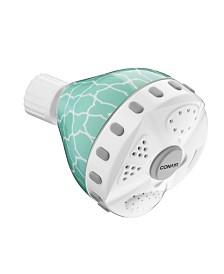 Conair 4-Setting Wall-Mounted Patterned Showerhead