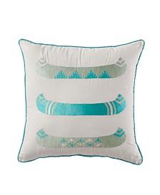 """Canoe 18"""" X 18"""" Dec Pillow"""
