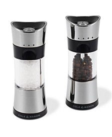 "Horsham Chrome 6"" Salt & Pepper Mill Gift Set"