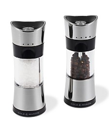 "Cole & Mason Horsham Chrome 6"" Salt & Pepper Mill Gift Set"