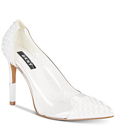 DKNY Women's Resh Lucite Pumps, Created for Macy's