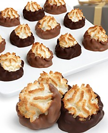 Chocolate Covered Company  12-Pc. Belgian Chocolate Dipped Macaroons